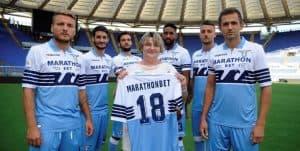 БК «Марафон» и ФК Лацио стали партнерами